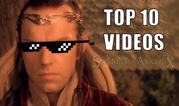 Top 10 des vidéos sur le Seigneur des Anneaux