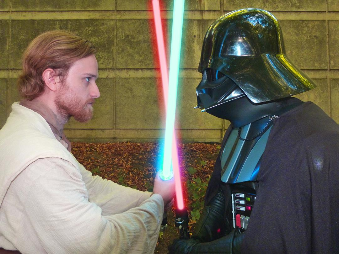 Obi-Wan Kenobi et Dark Vador Star Wars 04