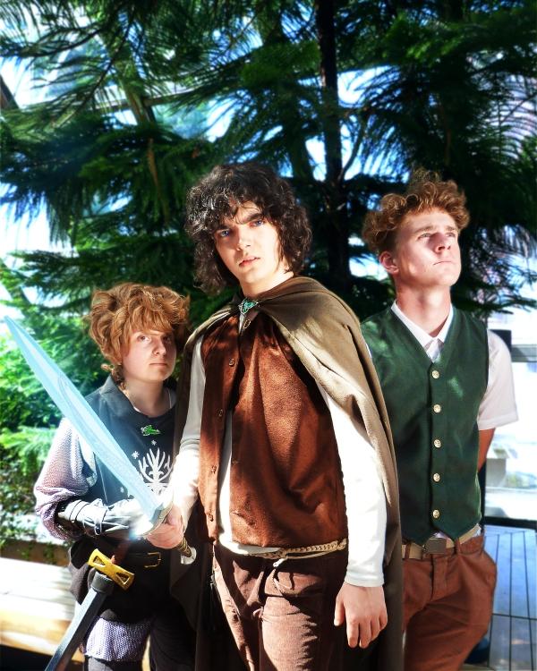 Hobbits par Epic Lama Photo
